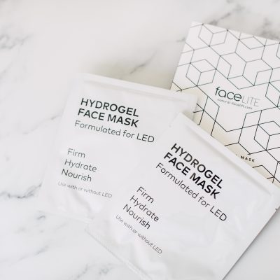 Anti-Aging LED faceLITE Hydrogel Masque
